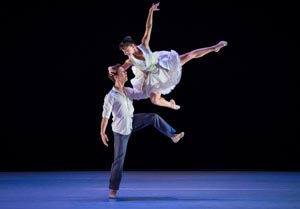 "Ben Needham-Wood and Terez Dean in ""Serenade for Strings"" Photo by Keith Sutter"
