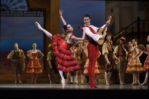 Mathilde Froustey and Carlos Quenedit in Tomasson/Possokhov's Don Quixote. Photo by Erik Tomasson