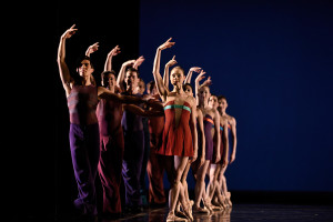 San Francisco Ballet in Wheeldon's Rush. (© Erik Tomasson)