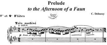 Prelude to the Afternoon of a Faun